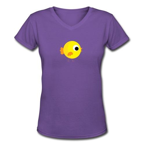 HENNYTHEPENNY1 01 - Women's V-Neck T-Shirt