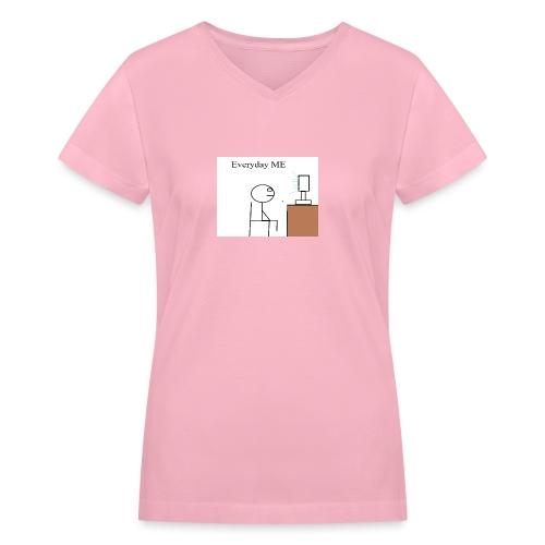 Everyday ME - Women's V-Neck T-Shirt