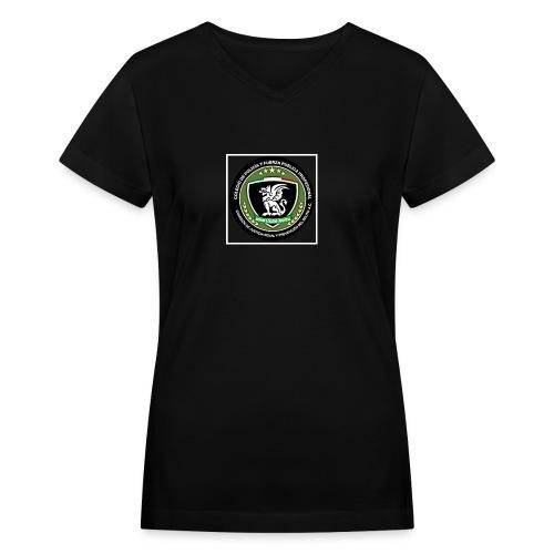 Its for a fundraiser - Women's V-Neck T-Shirt