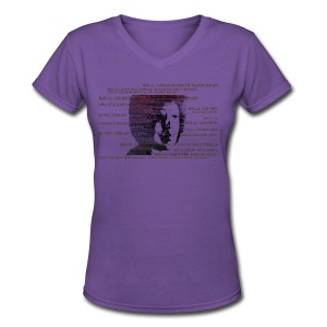 AD 1 - Women's V-Neck T-Shirt