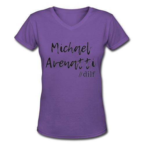 Michael Avenatti Dilf - Women's V-Neck T-Shirt