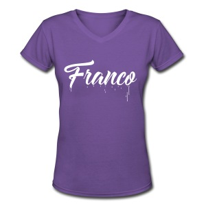 Franco Paint - Women's V-Neck T-Shirt