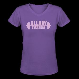 Dedication - Women's V-Neck T-Shirt
