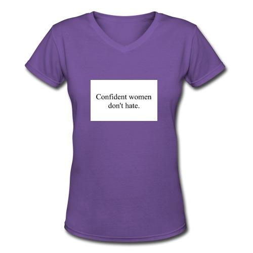 Classic T-shirt - Women's V-Neck T-Shirt