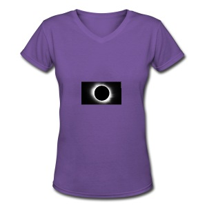 Solar - Women's V-Neck T-Shirt