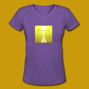 Miracle From Above - Women's V-Neck T-Shirt