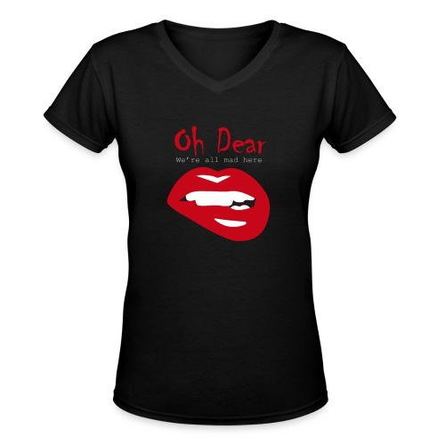 Oh Dear - Women's V-Neck T-Shirt