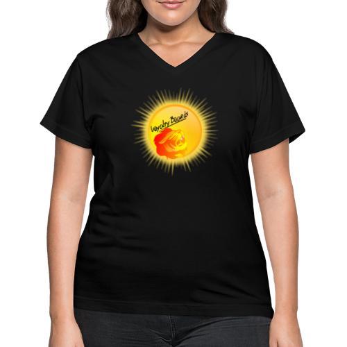 LoyaltyBoardsNewLogo 10000 - Women's V-Neck T-Shirt