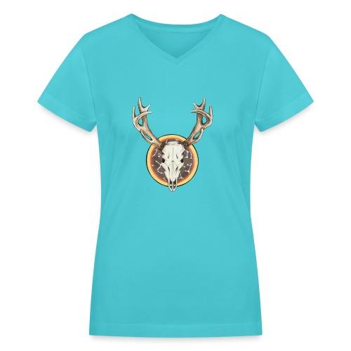 Death Dearest - Women's V-Neck T-Shirt