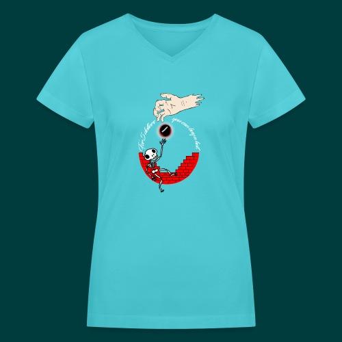 cool - Women's V-Neck T-Shirt