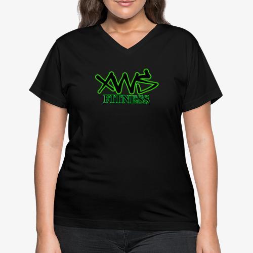 XWS Fitness - Women's V-Neck T-Shirt