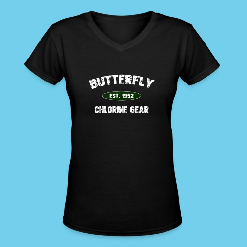 butterfly est 1952 - Women's V-Neck T-Shirt