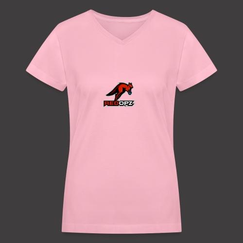 RedOpz Basic - Women's V-Neck T-Shirt