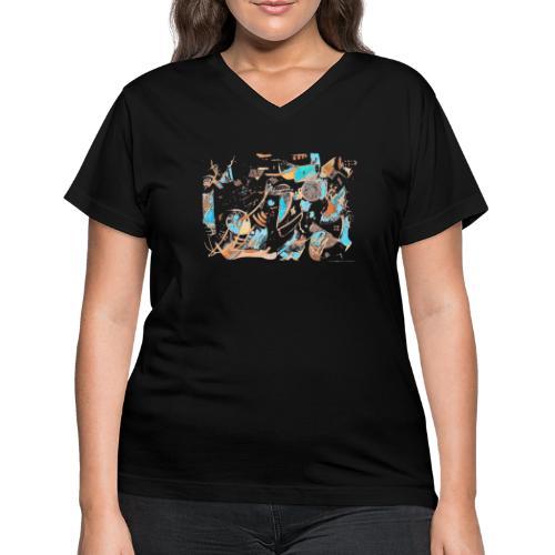 Firooz - Women's V-Neck T-Shirt