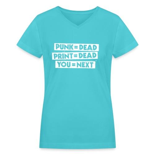 You = Next - Women's V-Neck T-Shirt