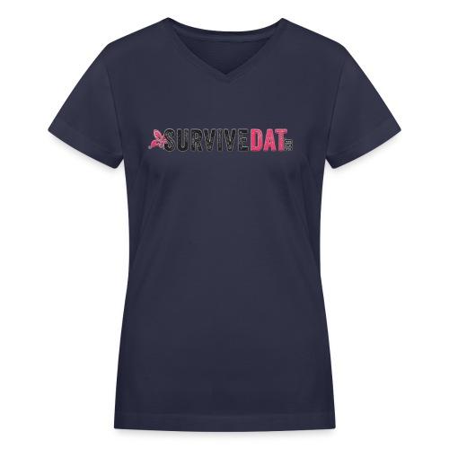 Tshirt Big logo png - Women's V-Neck T-Shirt