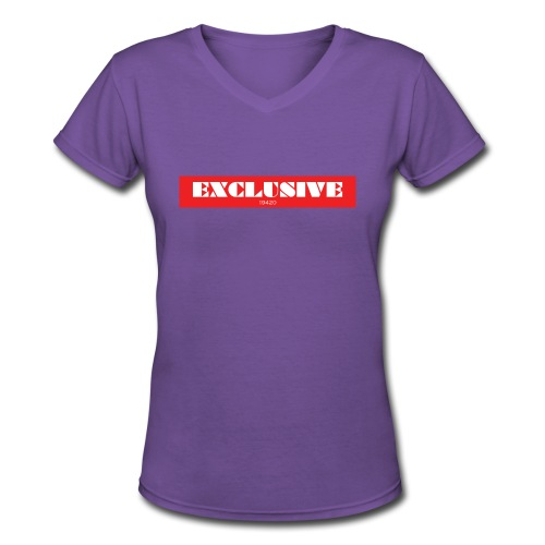 exclusive - Women's V-Neck T-Shirt