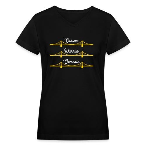 Sister Bridges - Women's V-Neck T-Shirt