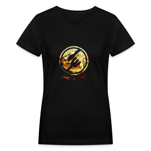 tacolife - Women's V-Neck T-Shirt