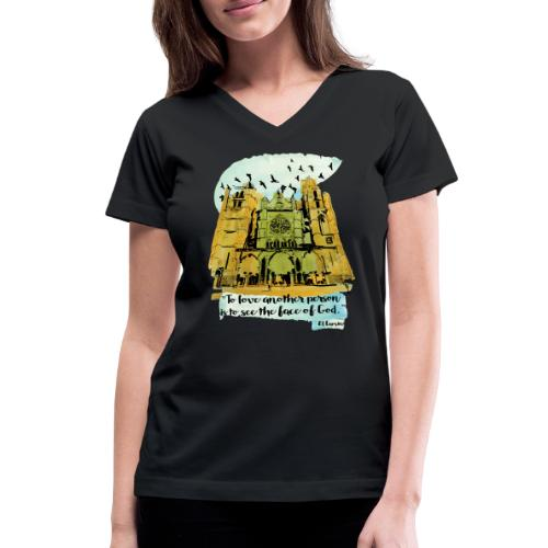 El camino - Women's V-Neck T-Shirt
