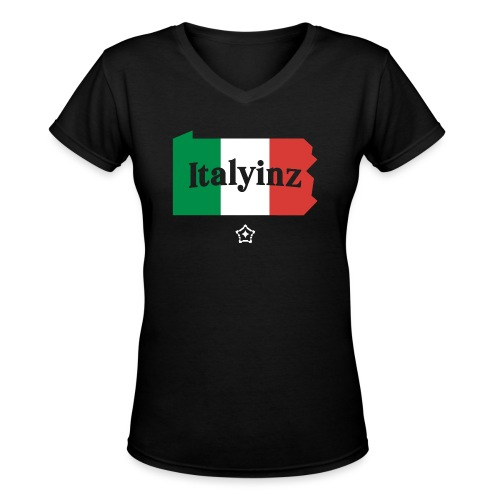 Italyinz_ - Women's V-Neck T-Shirt