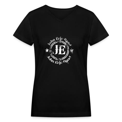 John Eric Band - Women's V-Neck T-Shirt