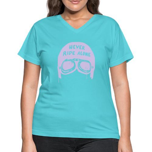 Urban Cruiser - Women's V-Neck T-Shirt