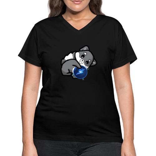Eluketric's Zapp - Women's V-Neck T-Shirt