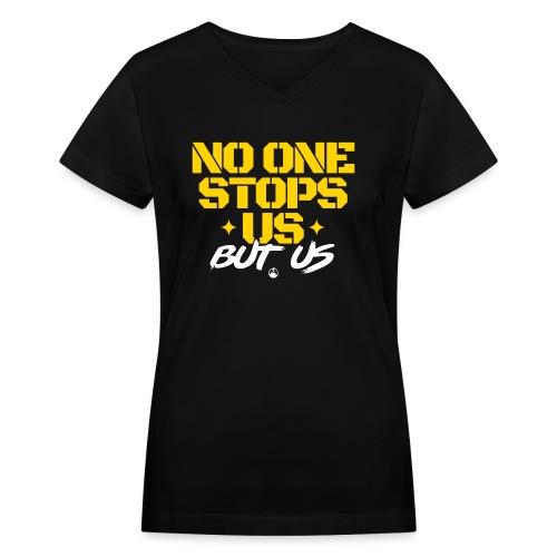 noone - Women's V-Neck T-Shirt