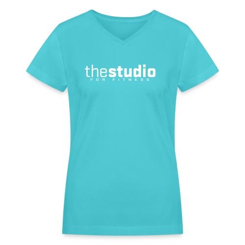 mens sleeveless - Women's V-Neck T-Shirt