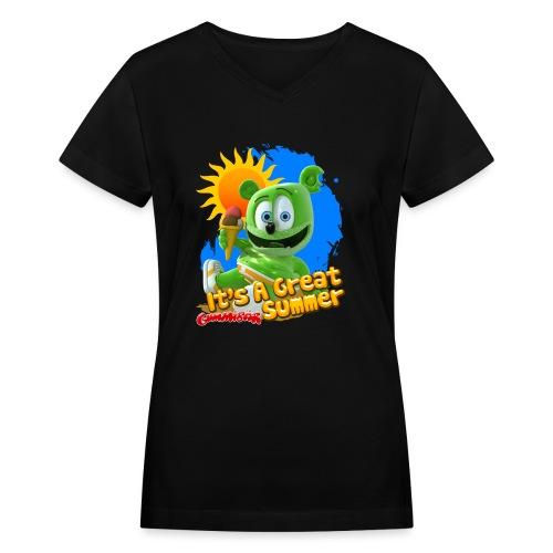 It's A Great Summer - Women's V-Neck T-Shirt