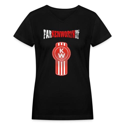 Farkenworthit logo png - Women's V-Neck T-Shirt