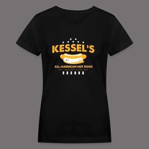Kessel Pittsburgh - Women's V-Neck T-Shirt