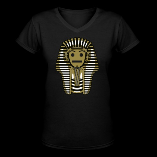 Pharaoh Fase - Women's V-Neck T-Shirt