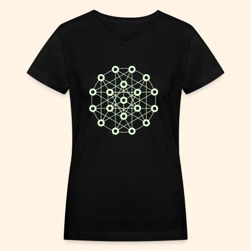 Orrery - Women's V-Neck T-Shirt