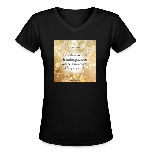 Abundance - Women's V-Neck T-Shirt
