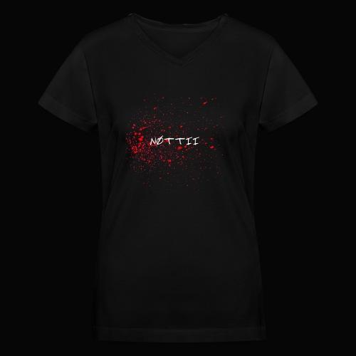 NØTTII - Women's V-Neck T-Shirt