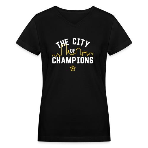 cityof - Women's V-Neck T-Shirt