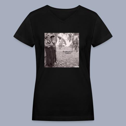 dunkerley twins - Women's V-Neck T-Shirt