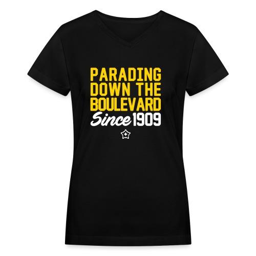 paradingv - Women's V-Neck T-Shirt