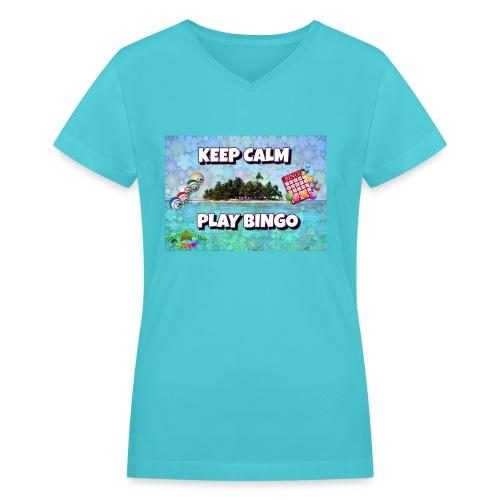 SELL1 - Women's V-Neck T-Shirt