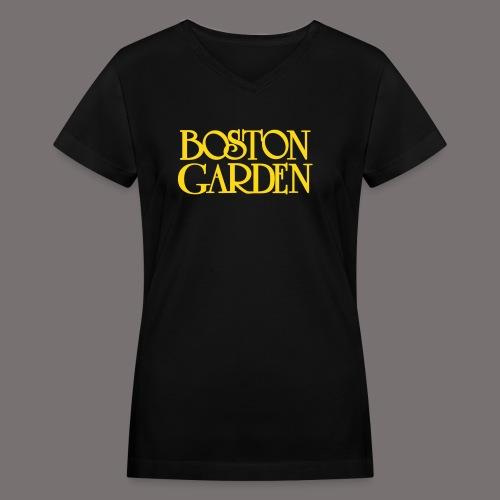 Boston Garden - Women's V-Neck T-Shirt