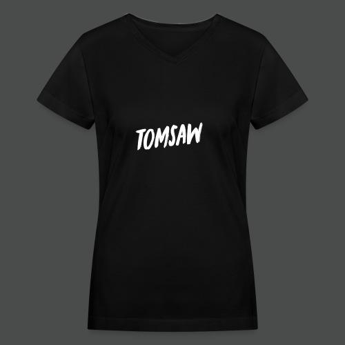 Tomsaw NEW - Women's V-Neck T-Shirt