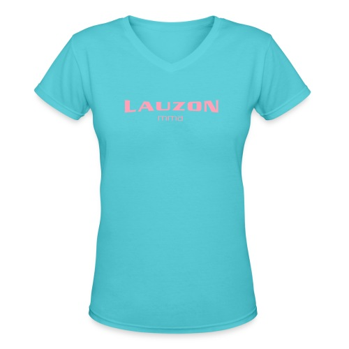 lauzonmma logo svg - Women's V-Neck T-Shirt