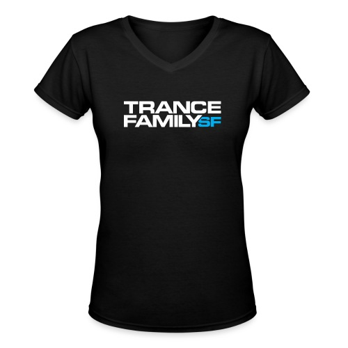 TFSF white png - Women's V-Neck T-Shirt