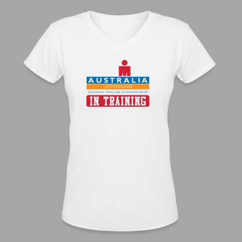 IRONMAN Australia alt - Women's V-Neck T-Shirt