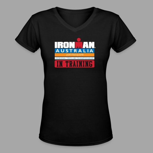 IRONMAN Australia alt - Women's V-Neck T-Shirt