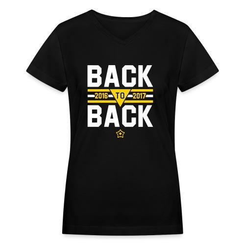 b2b2 - Women's V-Neck T-Shirt