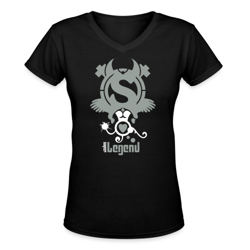 Super Legend (Woman) - Women's V-Neck T-Shirt