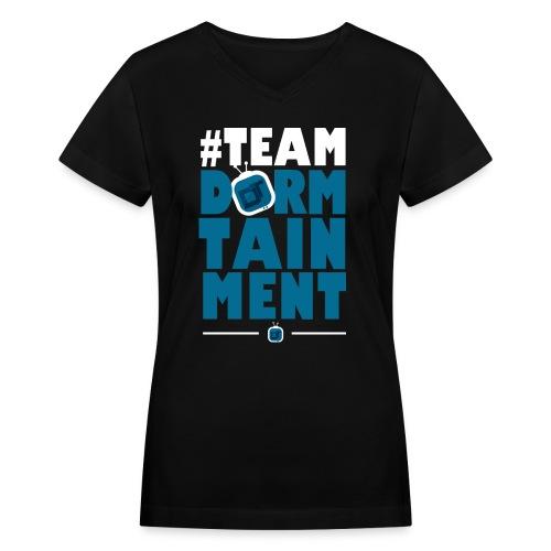 teamdt - Women's V-Neck T-Shirt